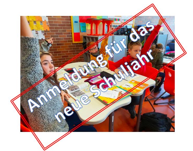Anmeldungen für das Schuljahr 20/21 starten Ende Februar